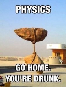 Physics go home