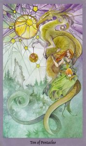 Ten of Pentacles Shadowscapes Deck Stephanie Sweet